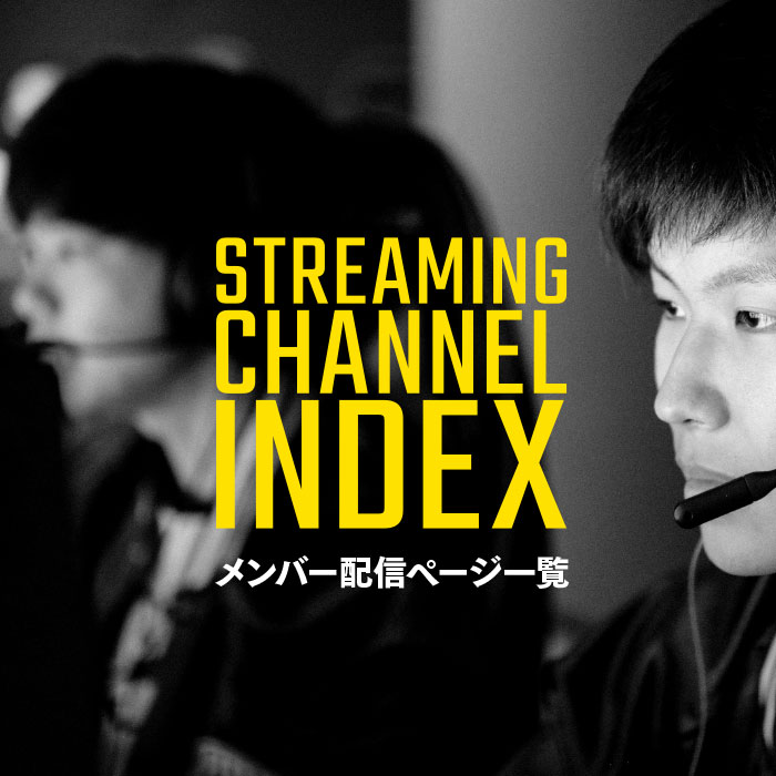 MEMBER STREAMING CHANNEL INDEX