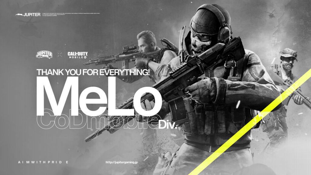 Call of Duty Mobile – MeLo 退団