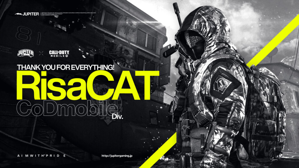 Call of Duty Mobile – RisaCAT 退団