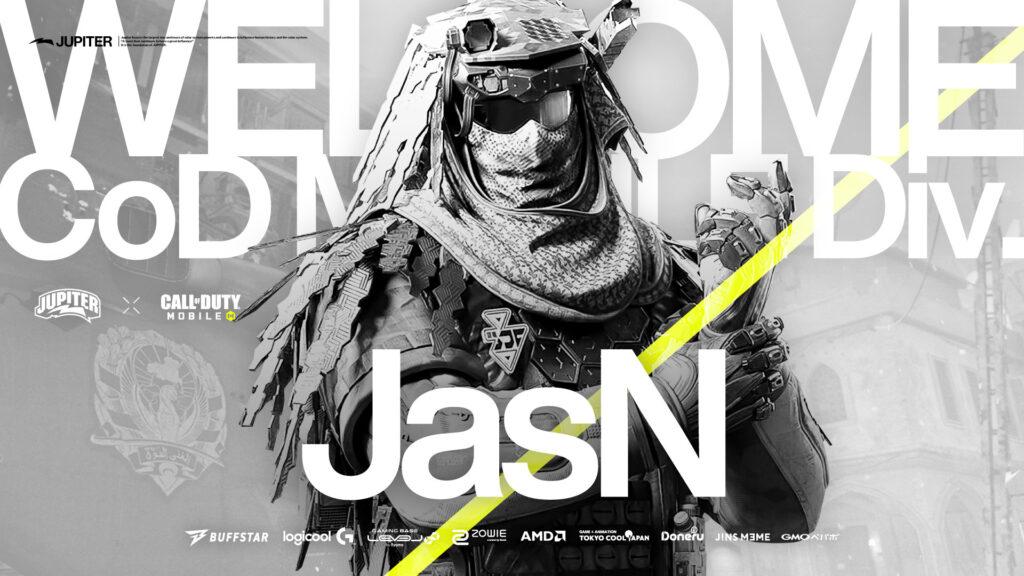 Call of Duty Mobile部門 – JasN 加入
