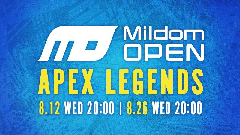 Apex Legends – 『Apex Legends Mildom OPEN #3』 出場・結果報告 VEGA優勝
