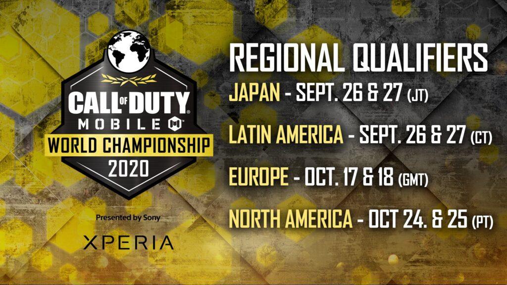 Call of Duty Mobile -『CALL OF DUTY: MOBILEワールドチャンピオンシップ2020』に出場