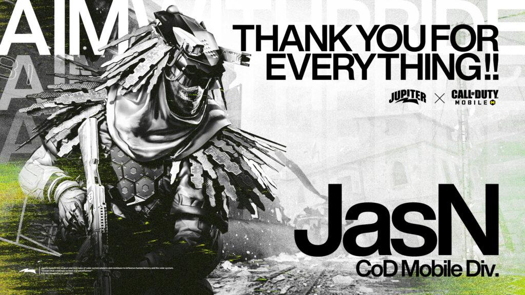 Call of Duty Mobile – JasN 退団