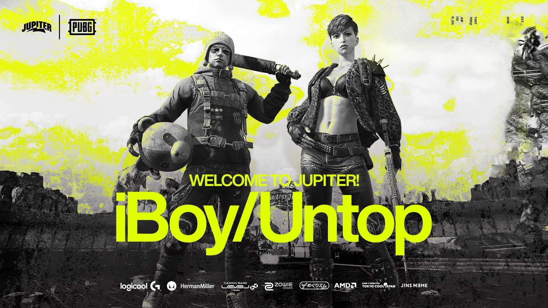 PUBG – iBoy,Untop,Middleee 加入