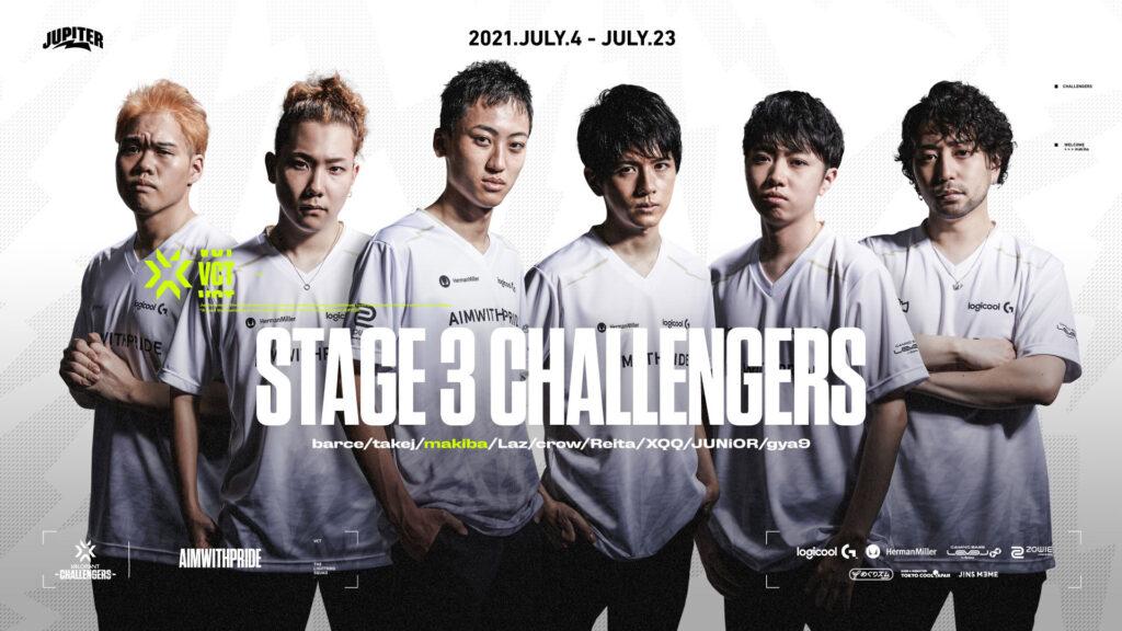VALORANT – makiba 加入&『VALORANT CHAMPIONS TOUR 2021』STAGE3 Challengers に出場