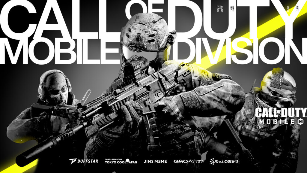 Call of Duty Mobile – AyuyK, MeLo, RisaCAT, Ranpo, Land 加入