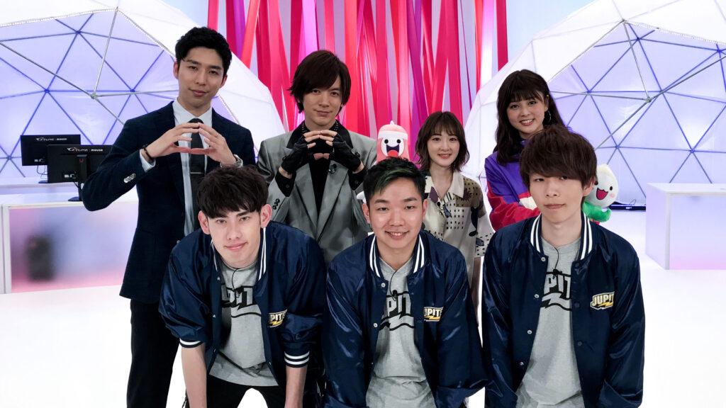 2月14日(木)24:59から放送の日本テレビ系列eスポーツ番組『eGG』にAmeKen、Sabagod、ta1yoが出演