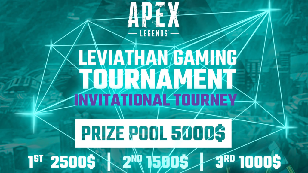 Apex Legends – 『Leviathan Gaming Tournament – Invitational Tourney』に出場